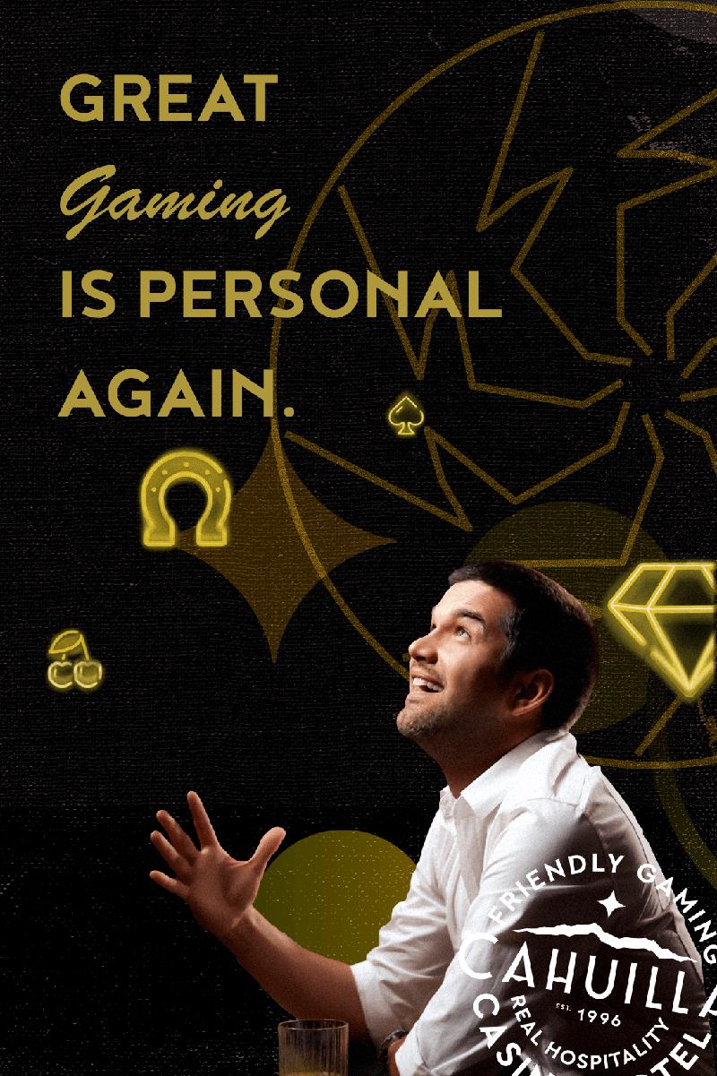 personal gaming at cahuilla casino