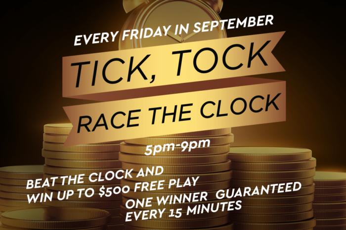 tick tock race the clock